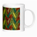 Shapes pattern Night Luminous Mug Right
