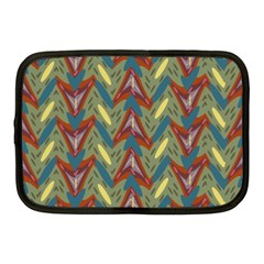 Shapes Pattern Netbook Case (medium) by LalyLauraFLM