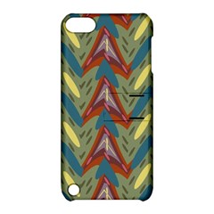 Shapes Pattern Apple Ipod Touch 5 Hardshell Case With Stand by LalyLauraFLM