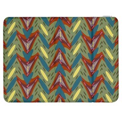Shapes Pattern Samsung Galaxy Tab 7  P1000 Flip Case by LalyLauraFLM