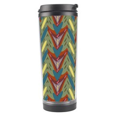 Shapes Pattern Travel Tumbler by LalyLauraFLM