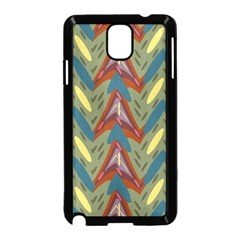 Shapes Pattern Samsung Galaxy Note 3 Neo Hardshell Case (black) by LalyLauraFLM