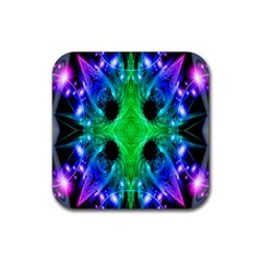 Alien Snowflake Drink Coasters 4 Pack (square) by icarusismartdesigns