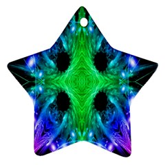 Alien Snowflake Star Ornament (two Sides) by icarusismartdesigns