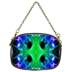 Alien Snowflake Chain Purse (one Side) by icarusismartdesigns