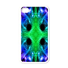 Alien Snowflake Apple Iphone 4 Case (white) by icarusismartdesigns