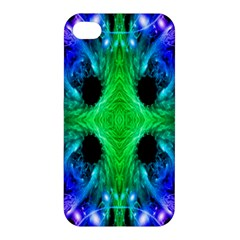 Alien Snowflake Apple Iphone 4/4s Hardshell Case by icarusismartdesigns