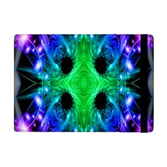 Alien Snowflake Apple Ipad Mini Flip Case by icarusismartdesigns