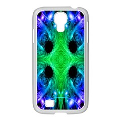 Alien Snowflake Samsung Galaxy S4 I9500/ I9505 Case (white) by icarusismartdesigns