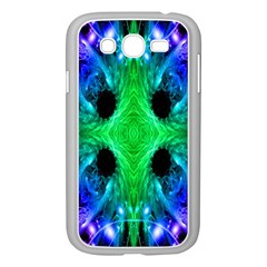 Alien Snowflake Samsung Galaxy Grand Duos I9082 Case (white) by icarusismartdesigns