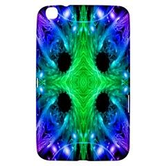 Alien Snowflake Samsung Galaxy Tab 3 (8 ) T3100 Hardshell Case  by icarusismartdesigns
