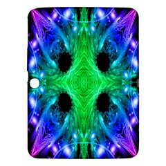 Alien Snowflake Samsung Galaxy Tab 3 (10 1 ) P5200 Hardshell Case  by icarusismartdesigns
