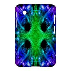Alien Snowflake Samsung Galaxy Tab 2 (7 ) P3100 Hardshell Case  by icarusismartdesigns