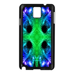 Alien Snowflake Samsung Galaxy Note 3 N9005 Case (black) by icarusismartdesigns