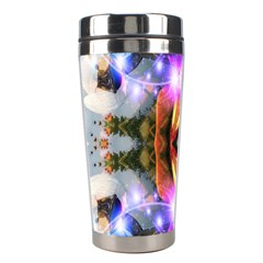 Connection Stainless Steel Travel Tumbler by icarusismartdesigns