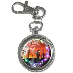 Ghost Dance Key Chain Watch by icarusismartdesigns