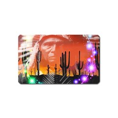 Ghost Dance Magnet (name Card) by icarusismartdesigns