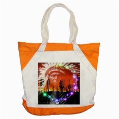 Ghost Dance Accent Tote Bag by icarusismartdesigns