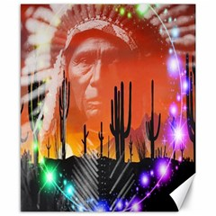 Ghost Dance Canvas 8  X 10  (unframed) by icarusismartdesigns