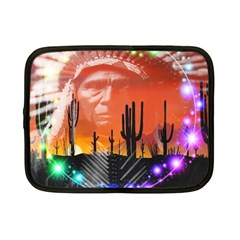 Ghost Dance Netbook Sleeve (small) by icarusismartdesigns