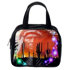 Ghost Dance Classic Handbag (one Side) by icarusismartdesigns