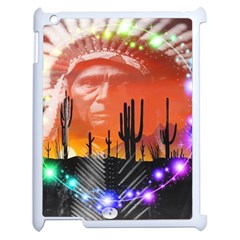 Ghost Dance Apple Ipad 2 Case (white) by icarusismartdesigns