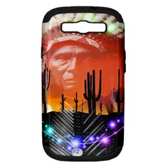 Ghost Dance Samsung Galaxy S Iii Hardshell Case (pc+silicone) by icarusismartdesigns