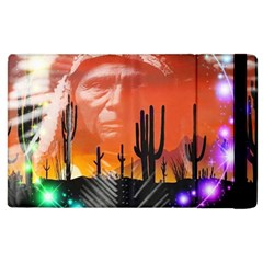 Ghost Dance Apple Ipad 3/4 Flip Case by icarusismartdesigns