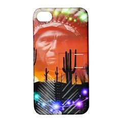 Ghost Dance Apple Iphone 4/4s Hardshell Case With Stand by icarusismartdesigns