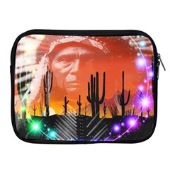 Ghost Dance Apple Ipad Zippered Sleeve by icarusismartdesigns