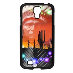 Ghost Dance Samsung Galaxy S4 I9500/ I9505 Case (black) by icarusismartdesigns