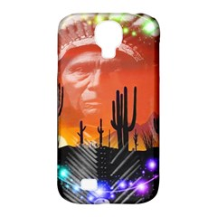 Ghost Dance Samsung Galaxy S4 Classic Hardshell Case (pc+silicone) by icarusismartdesigns