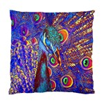 Peacock Cushion Case (Single Sided)  Front