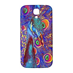 Peacock Samsung Galaxy S4 I9500/i9505  Hardshell Back Case by icarusismartdesigns