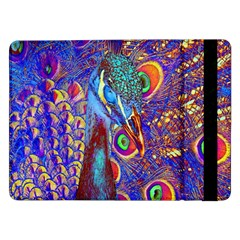 Peacock Samsung Galaxy Tab Pro 12 2  Flip Case by icarusismartdesigns