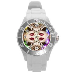 Magic Spell Plastic Sport Watch (large) by icarusismartdesigns