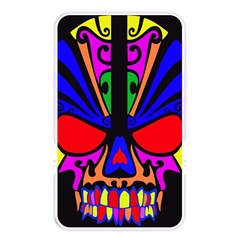 Skull In Colour Memory Card Reader (rectangular) by icarusismartdesigns