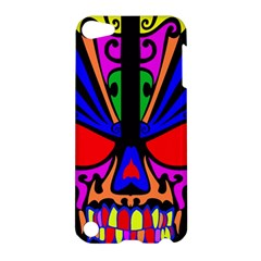 Skull In Colour Apple Ipod Touch 5 Hardshell Case by icarusismartdesigns