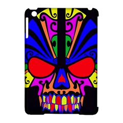 Skull In Colour Apple Ipad Mini Hardshell Case (compatible With Smart Cover) by icarusismartdesigns