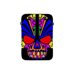 Skull In Colour Apple Ipad Mini Protective Sleeve by icarusismartdesigns