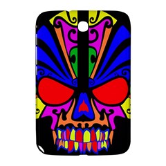 Skull In Colour Samsung Galaxy Note 8 0 N5100 Hardshell Case  by icarusismartdesigns