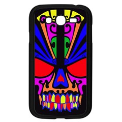 Skull In Colour Samsung Galaxy Grand Duos I9082 Case (black) by icarusismartdesigns