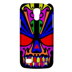 Skull In Colour Samsung Galaxy S4 Mini (gt I9190) Hardshell Case  by icarusismartdesigns