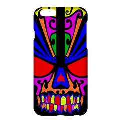 Skull In Colour Apple Iphone 6 Plus Hardshell Case by icarusismartdesigns