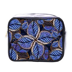 Fantasy Nature Pattern Print Mini Travel Toiletry Bag (one Side)