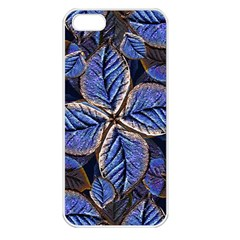 Fantasy Nature Pattern Print Apple Iphone 5 Seamless Case (white)