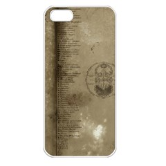 Declaration Apple Iphone 5 Seamless Case (white)