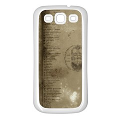 Declaration Samsung Galaxy S3 Back Case (white) by mynameisparrish