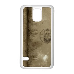 Declaration Samsung Galaxy S5 Case (white) by mynameisparrish
