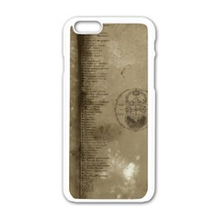 Declaration Apple Iphone 6 White Enamel Case by mynameisparrish